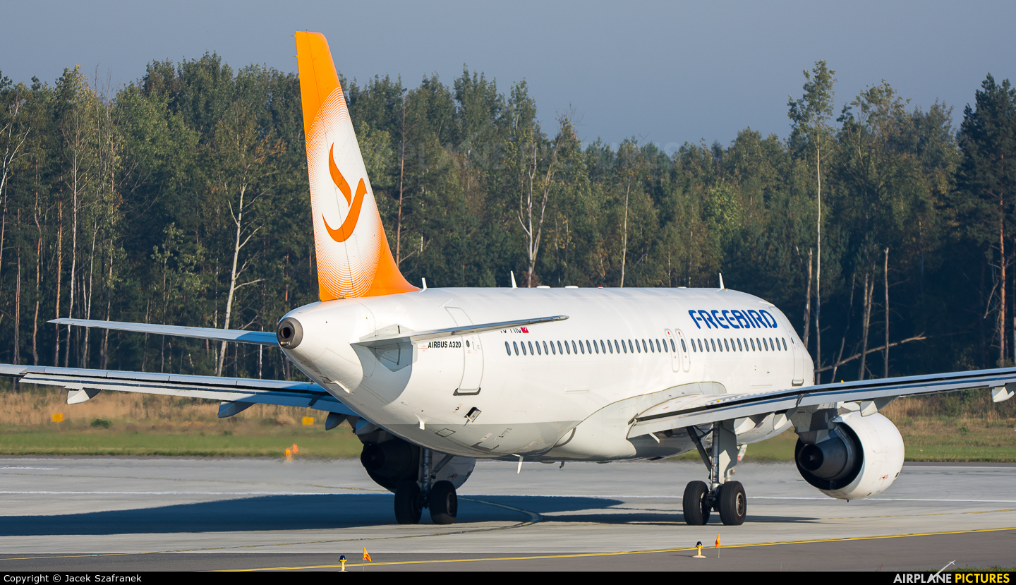 FreeBird Airlines TC-FHC aircraft at Katowice - Pyrzowice
