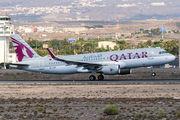 A7-LAF - Qatar Airways Airbus A320 aircraft