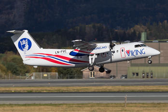 LN-FVC - FlyViking de Havilland Canada DHC-8-100 Dash 8