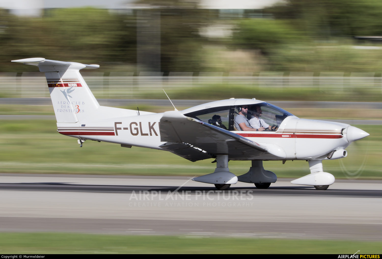 Private F-GLKH aircraft at Cannes - Mandelieu