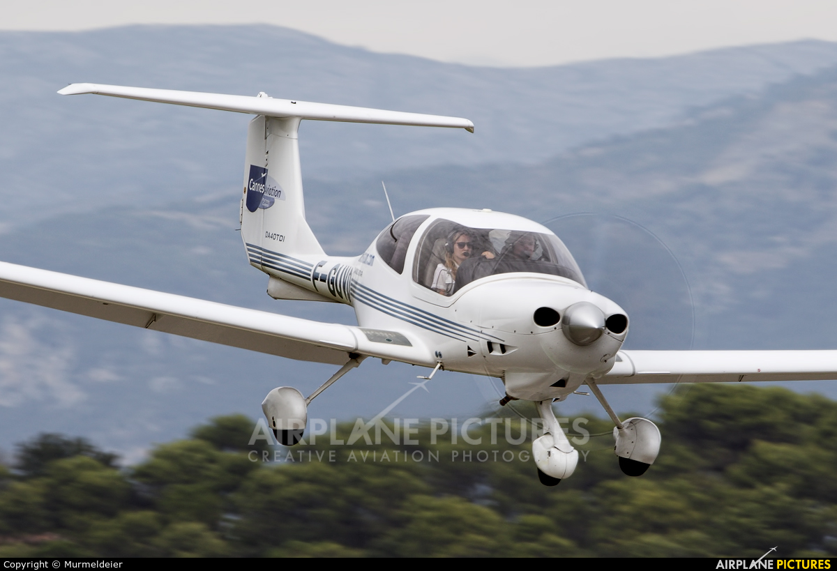 Private F-GUVQ aircraft at Cannes - Mandelieu