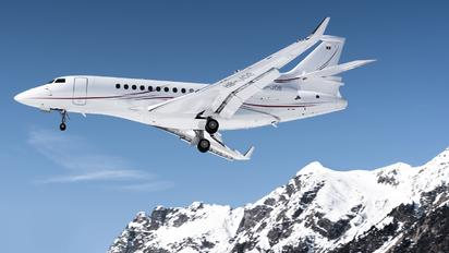 HB-JOB - Private Dassault Falcon 7X