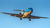 PH-KZU - KLM Cityhopper Fokker 70 aircraft