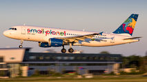 D-ABDB - Small Planet Airlines Airbus A320 aircraft