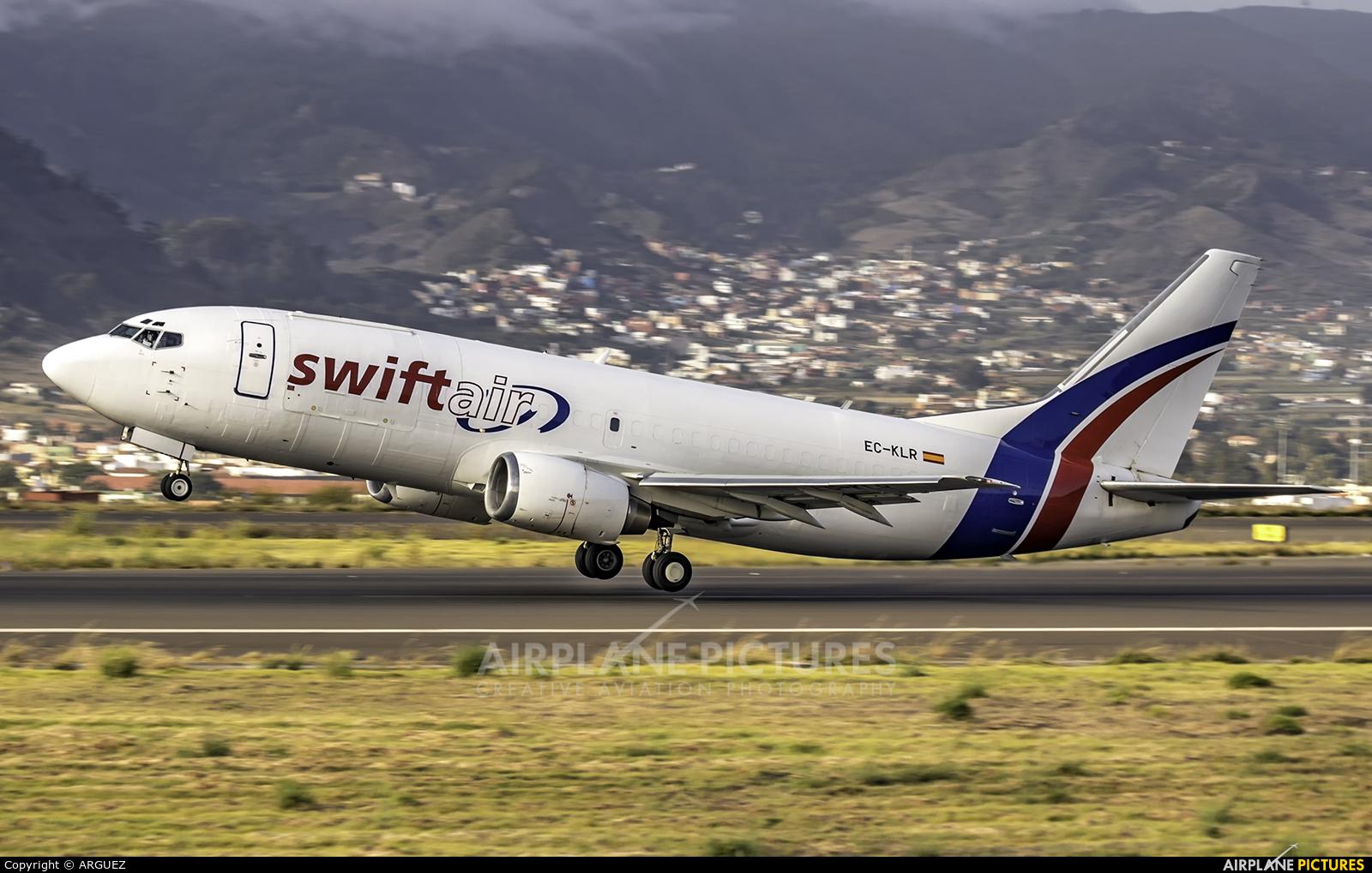 Swiftair EC-KLR aircraft at Tenerife Norte - Los Rodeos