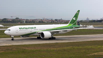 YI-AQZ - Iraqi Airways Boeing 777-200LR