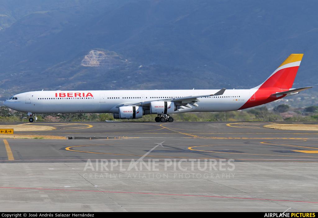 Iberia EC-LCZ aircraft at San Jose - Juan Santamaría Intl