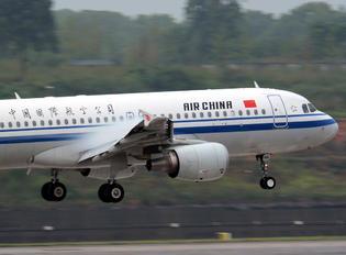 B-6881 - Air China Airbus A320