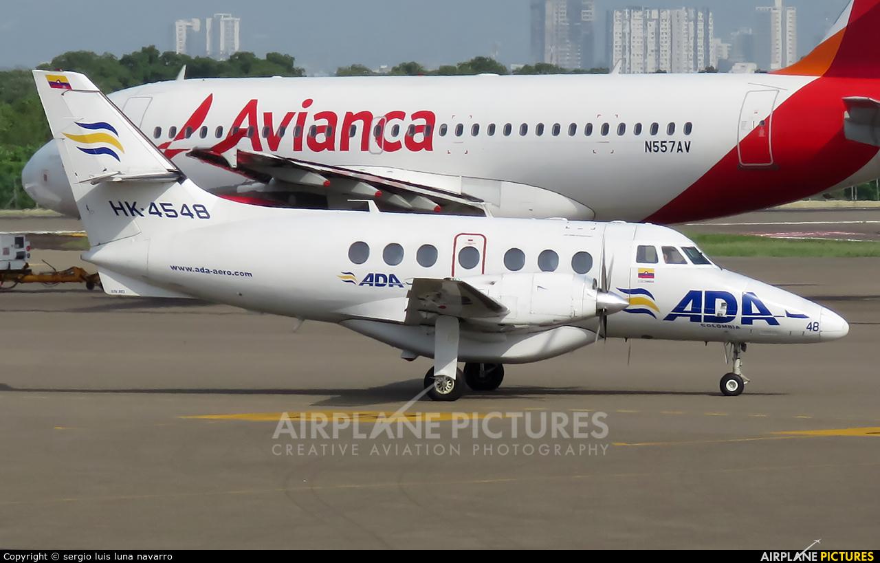 ADA Aerolinea de Antioquia HK-4548 aircraft at Cartagena - Rafael Núñez
