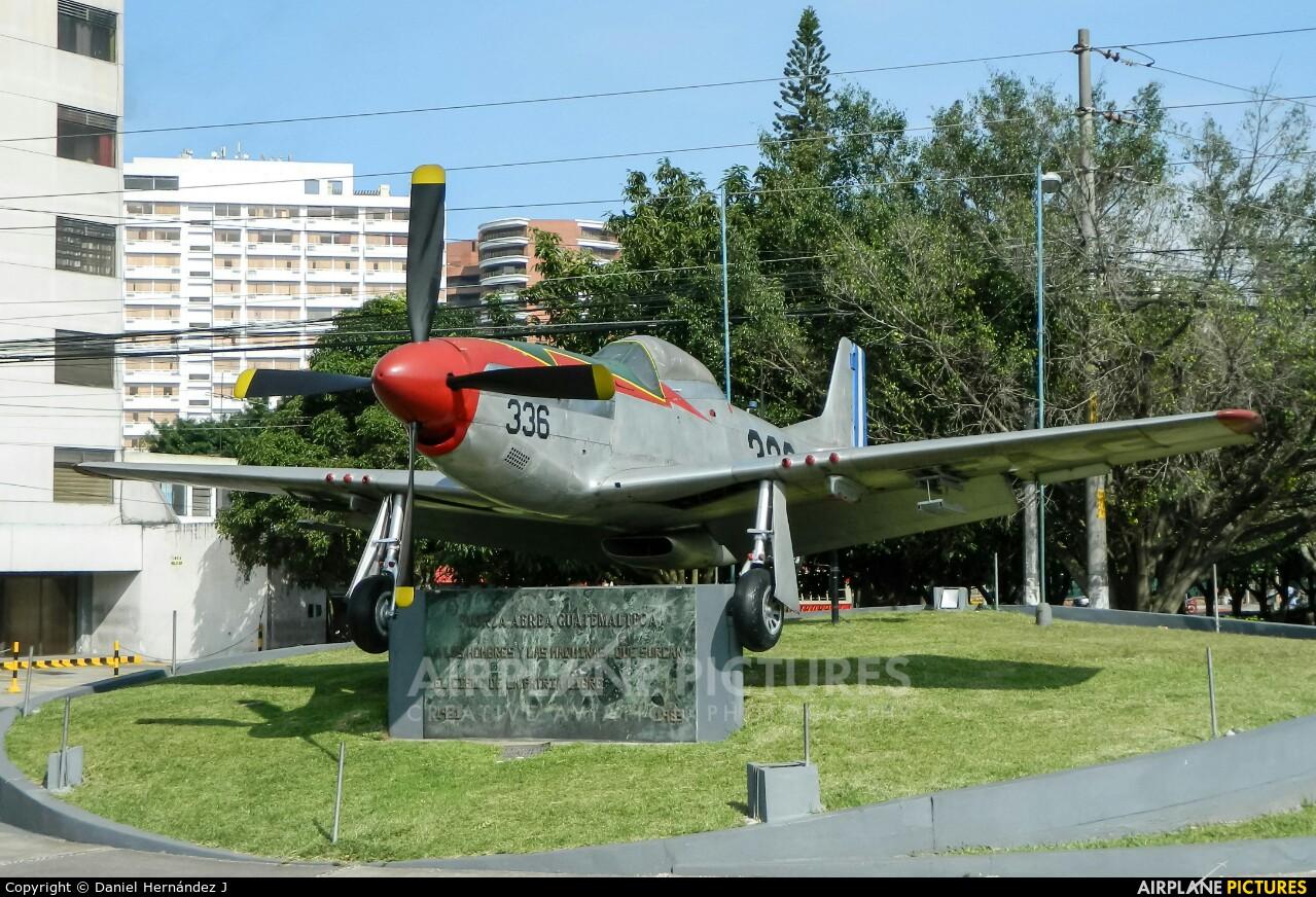 Guatemala - Air Force 336 aircraft at Guatemala - La Aurora