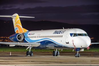 9A-BTD - Trade Air Fokker 100