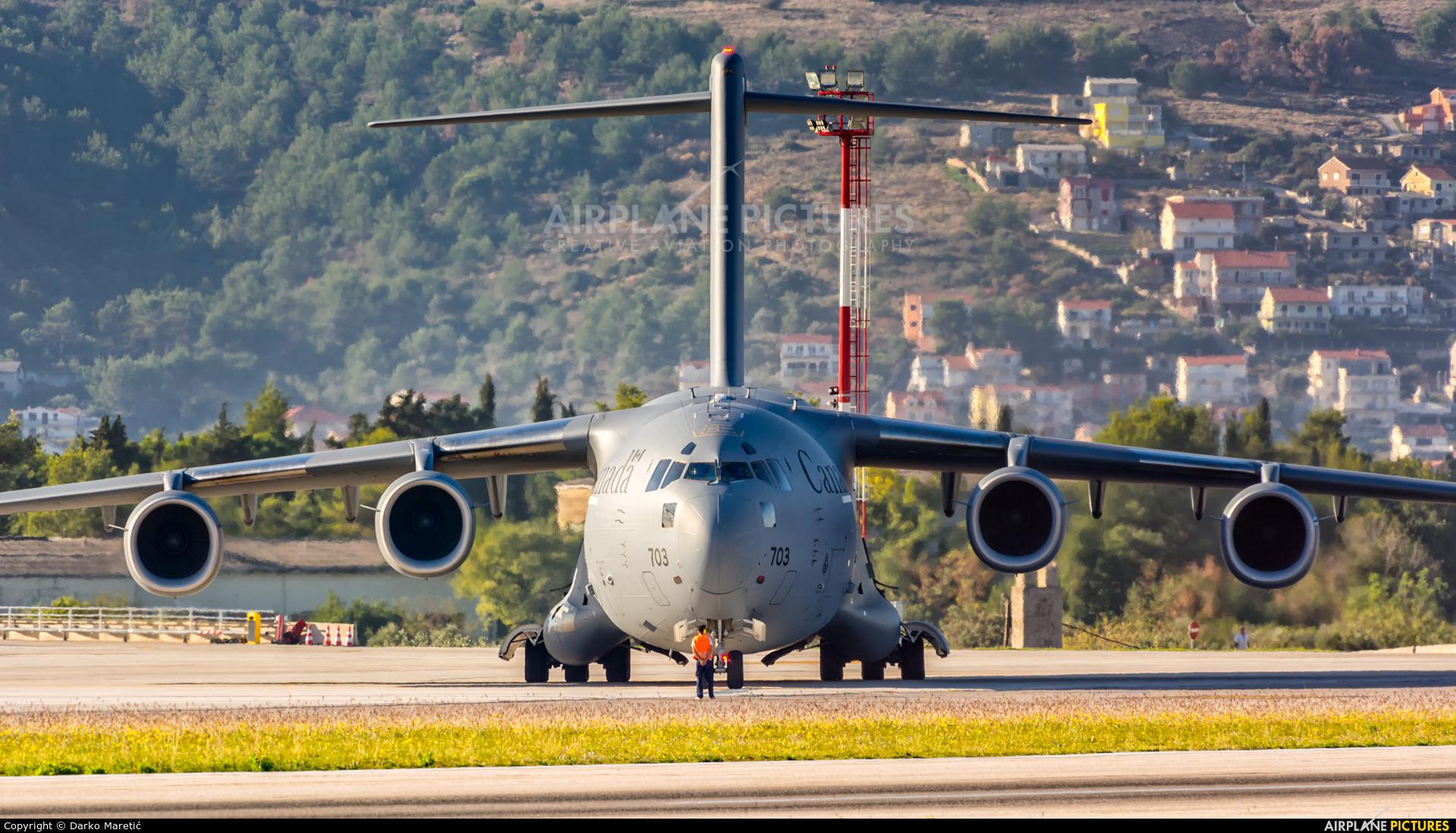Canada - Air Force 177703 aircraft at Split - Kaštela