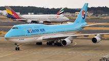 HL7404 - Korean Air Boeing 747-400 aircraft