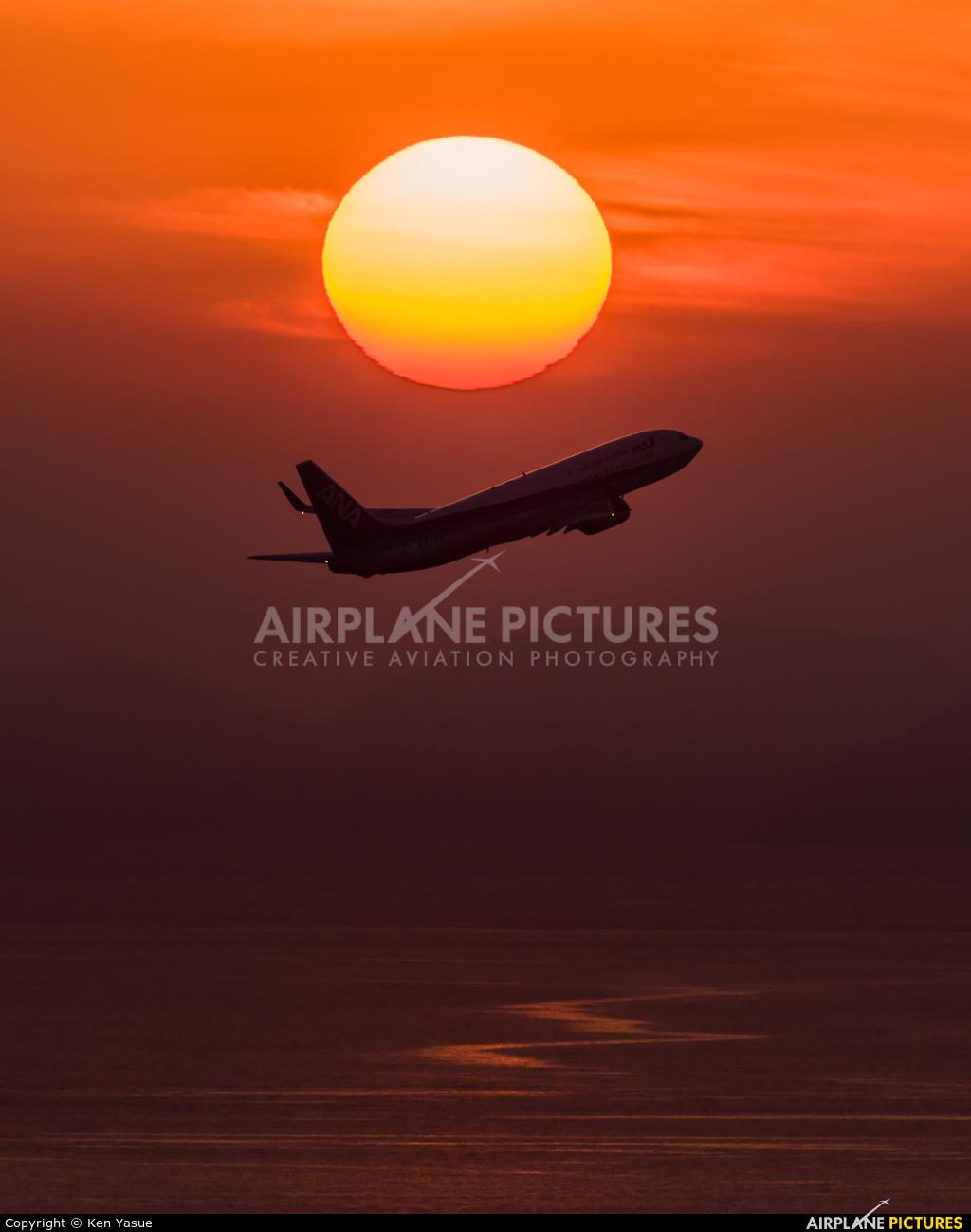 ANA - All Nippon Airways JA73AN aircraft at Matsuyama