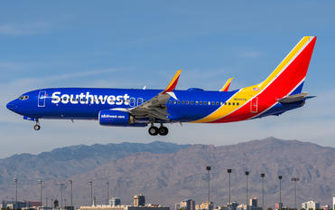 N8660A - Southwest Airlines Boeing 737-800