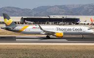 G-TCDM - Thomas Cook Airbus A321 aircraft