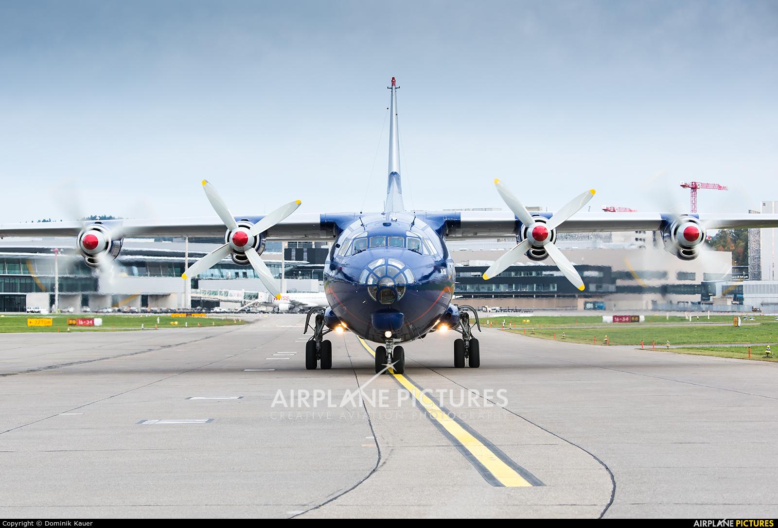 Ukraine Air Alliance UR-CNT aircraft at Zurich