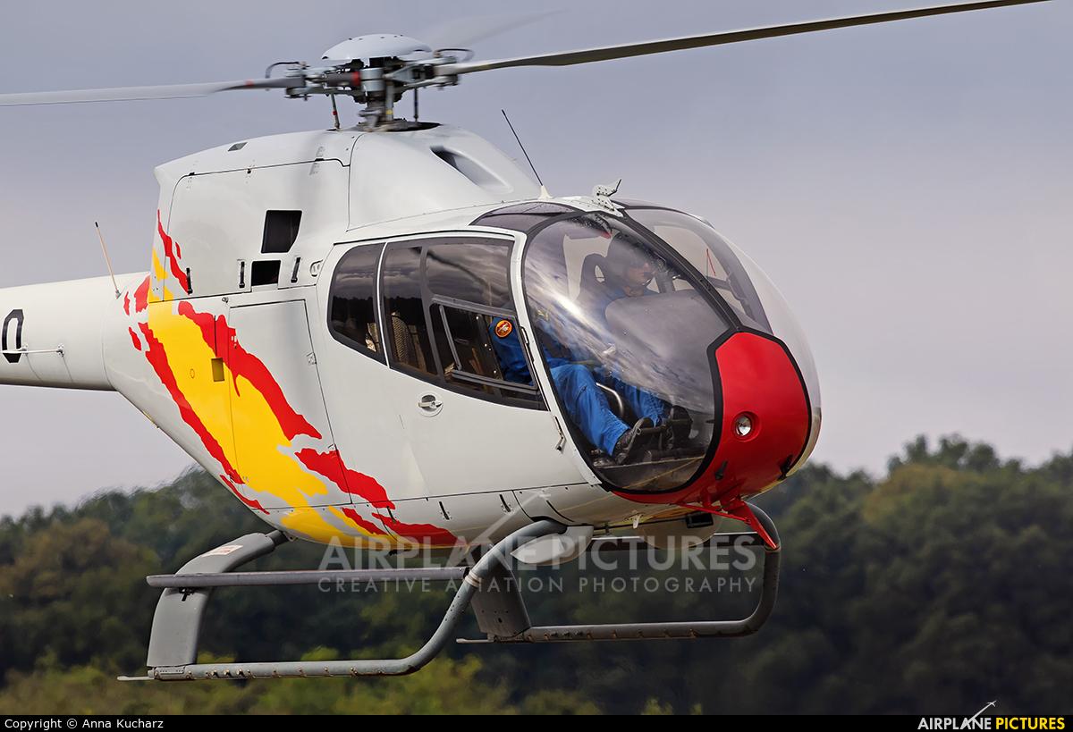 Spain - Air Force: Patrulla ASPA HE.25-11 aircraft at Kleine Brogel