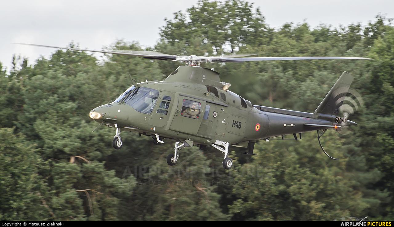 Belgium - Air Force H46 aircraft at Kleine Brogel