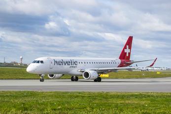 HB-JVO - Helvetic Airways Embraer ERJ-190 (190-100)