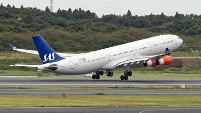 OY-KBI - SAS - Scandinavian Airlines Airbus A340-300