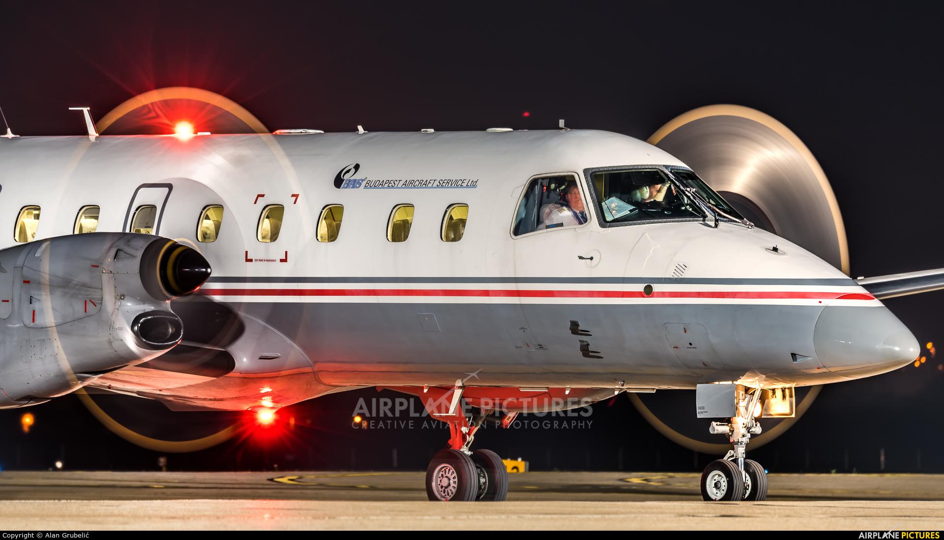 Budapest Aircraft Service HA-FAN aircraft at Zagreb