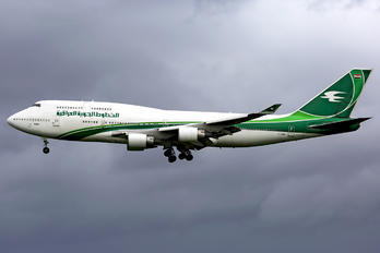 YI-ASA - Iraqi Airways Boeing 747-400