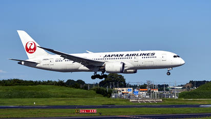 JA826J - JAL - Japan Airlines Boeing 787-8 Dreamliner