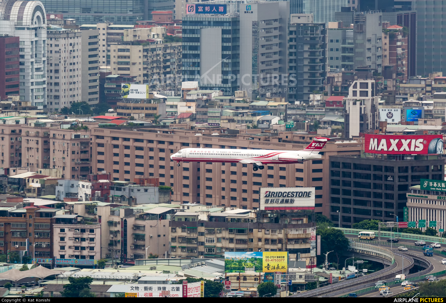 Far Eastern Air Transport B-28007 aircraft at Taipei - Sung Shan