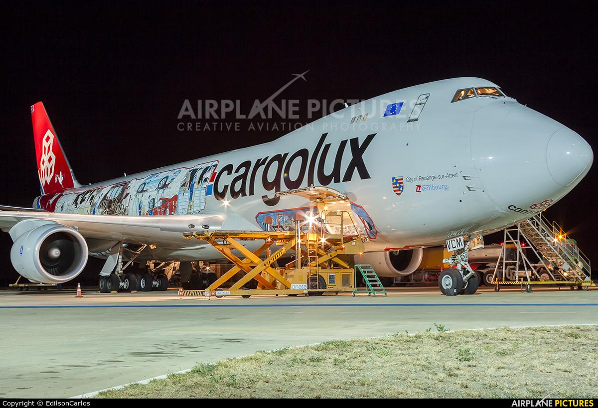 Cargolux LX-VCM aircraft at Petrolina