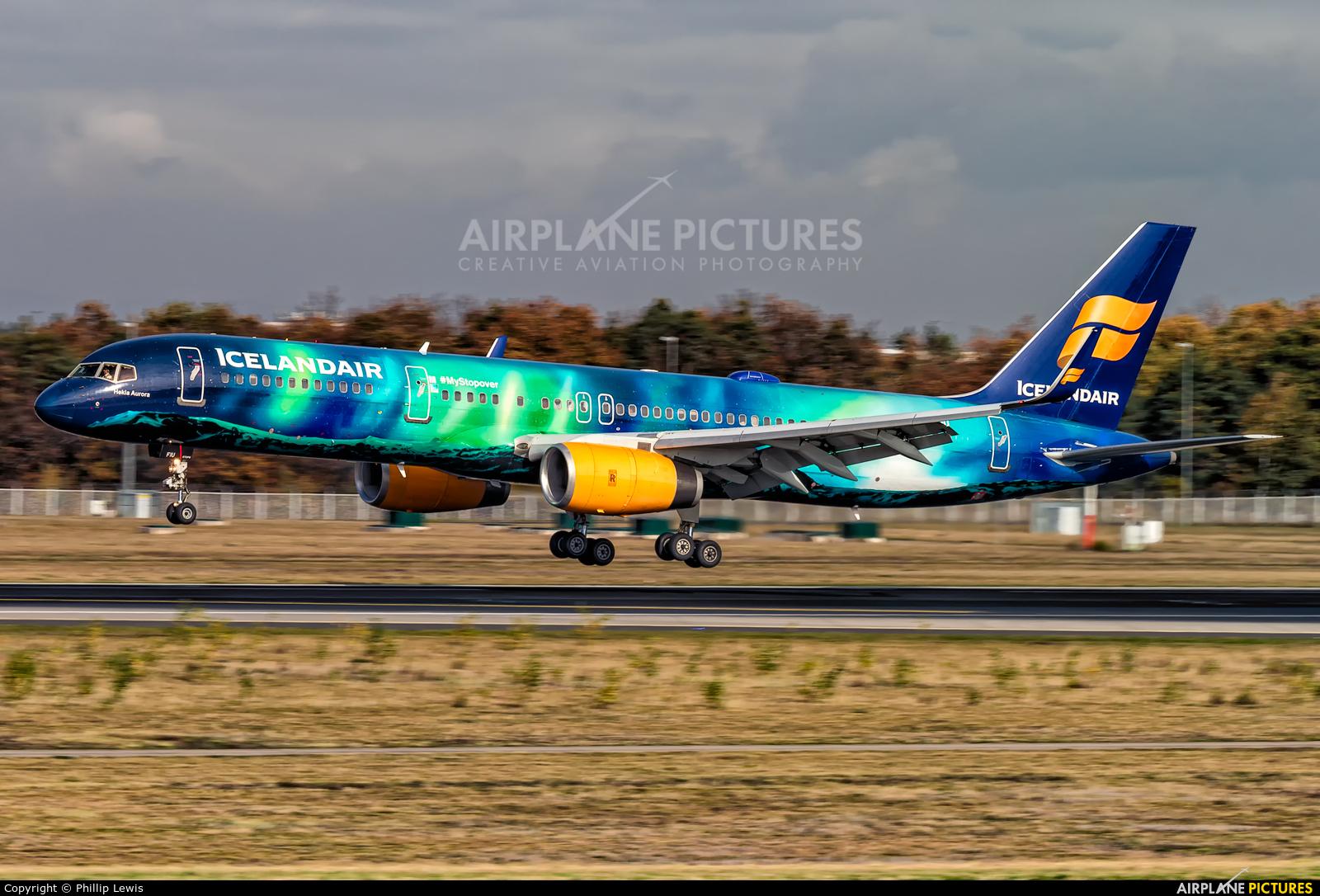 Icelandair TF-FIU aircraft at Frankfurt