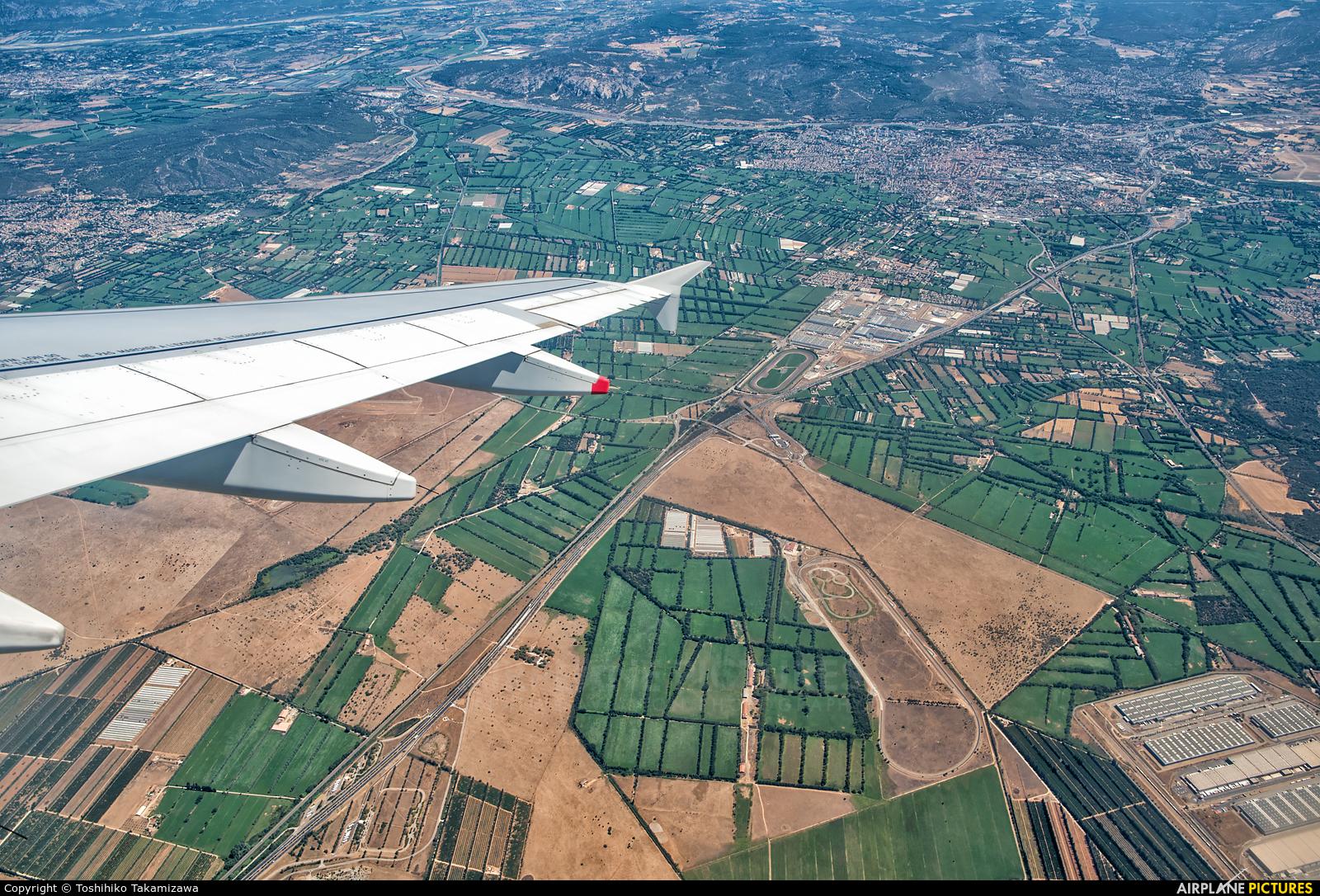 Air France F-HBNC aircraft at In Flight - France