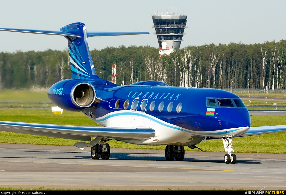 Azerbaijan - Government 4K-AI88 aircraft at Moscow - Vnukovo