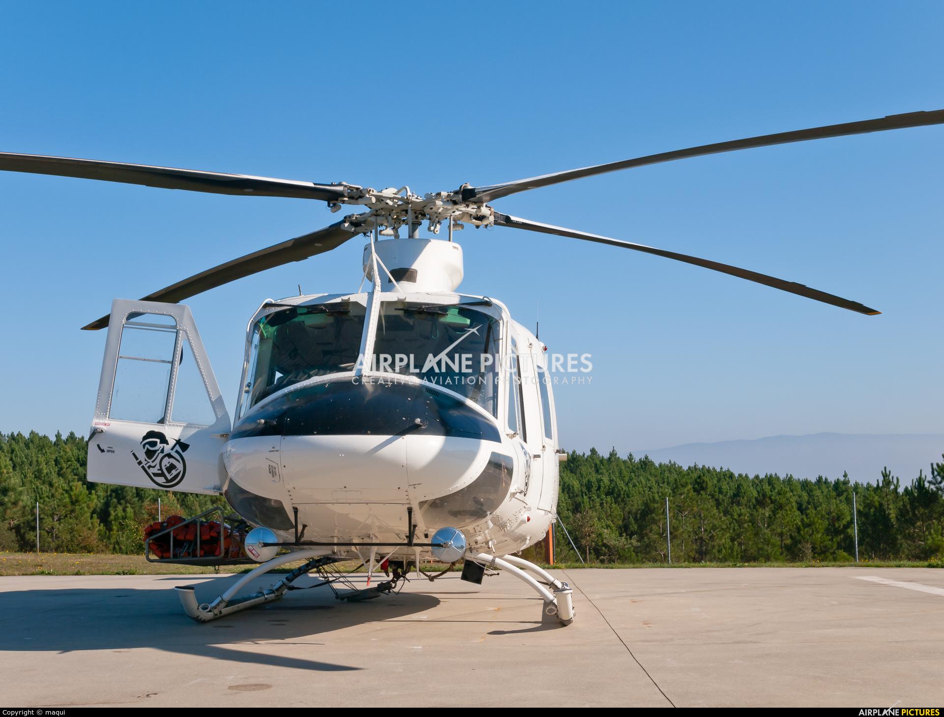 Babcock Support services EC-MPM aircraft at Ourense - Base de Toen