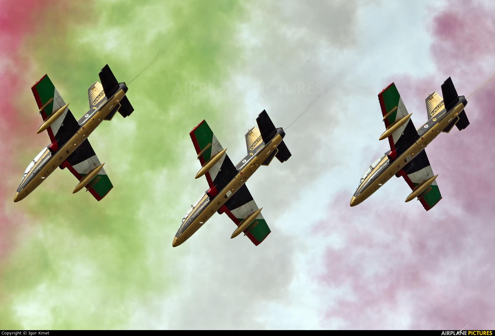 "United Arab Emirates - Air Force ""Al Fursan"" - aircraft at Sliač"