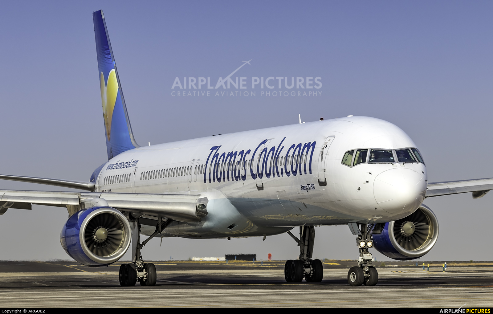 Thomas Cook G-JMAB aircraft at Tenerife Sur - Reina Sofia