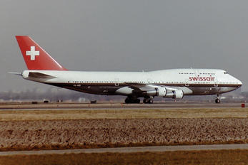 HB-IGD - Swissair Boeing 747-300