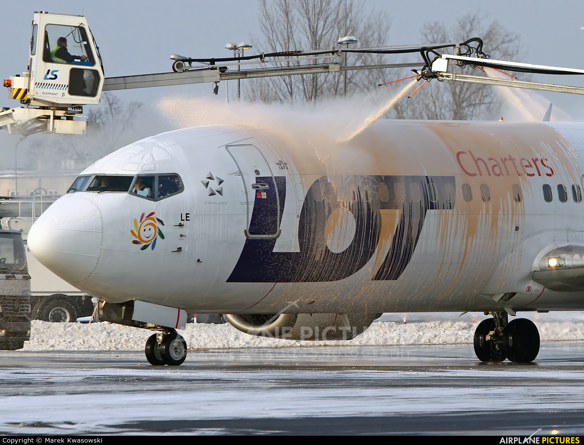 LOT Charters SP-LLE aircraft at Warsaw - Frederic Chopin