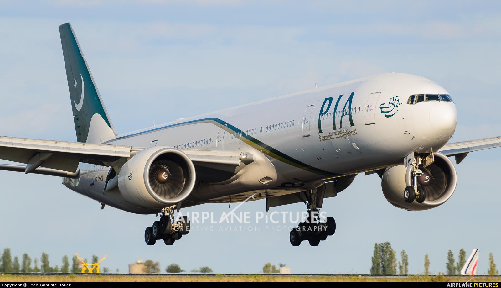 PIA - Pakistan International Airlines AP-BHV aircraft at Paris - Charles de Gaulle