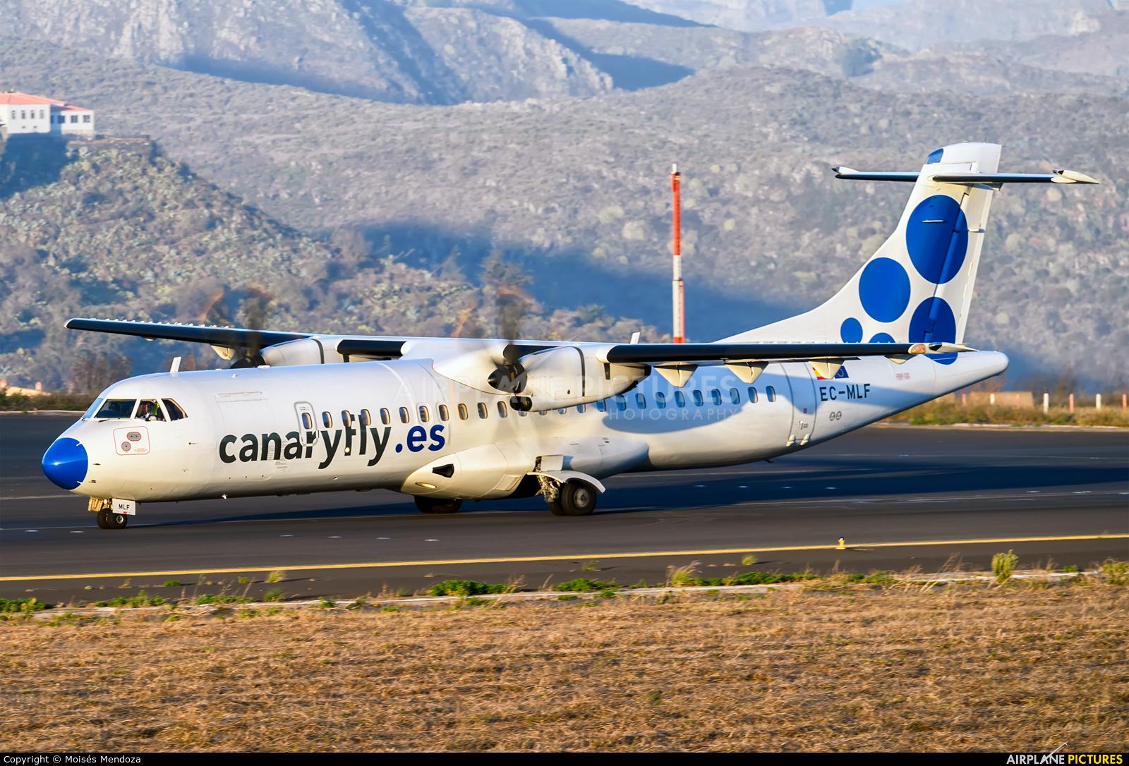 CanaryFly EC-MLF aircraft at Tenerife Norte - Los Rodeos