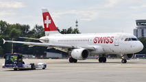 HB-IPY - Swiss Airbus A319 aircraft