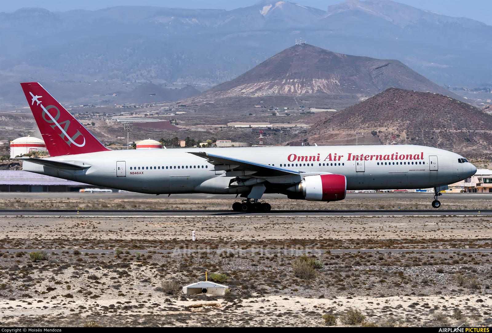 Omni Air International N846AX aircraft at Tenerife Norte - Los Rodeos