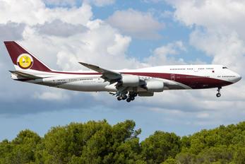 VQ-BSK - Qatar Amiri Flight Boeing 747-8 BBJ