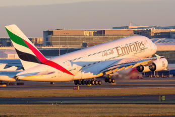 A6-EEM - Emirates Airlines Airbus A380