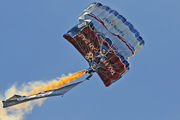 - - The Tigers Parachute Display Team - Airport Overview - Military Personnel aircraft