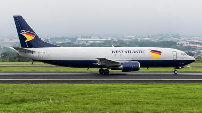 N859AU - West Atlantic Boeing 737-400F