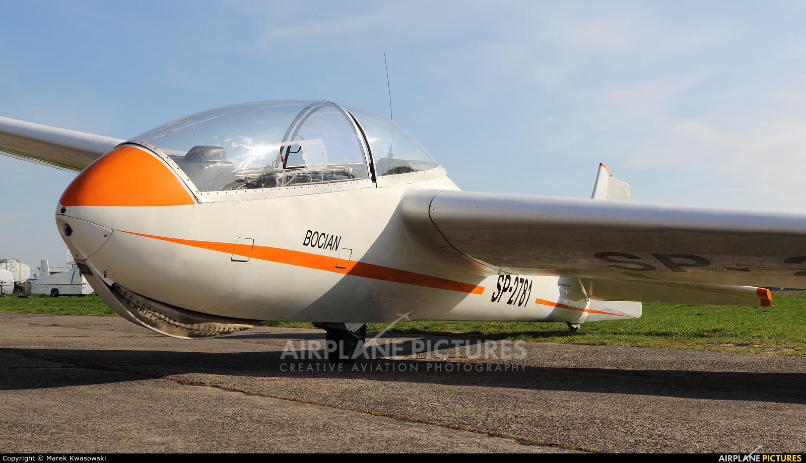 Aeroclub Warsaw SP-2781 aircraft at Warsaw - Babice