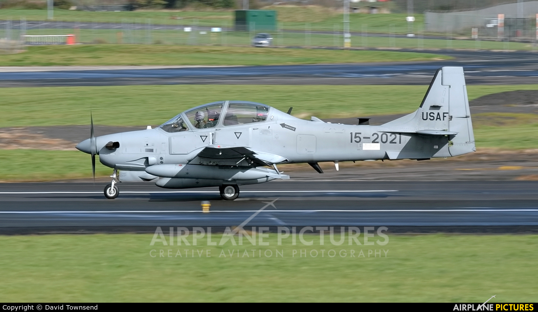 Unknown 15-2021 aircraft at Prestwick