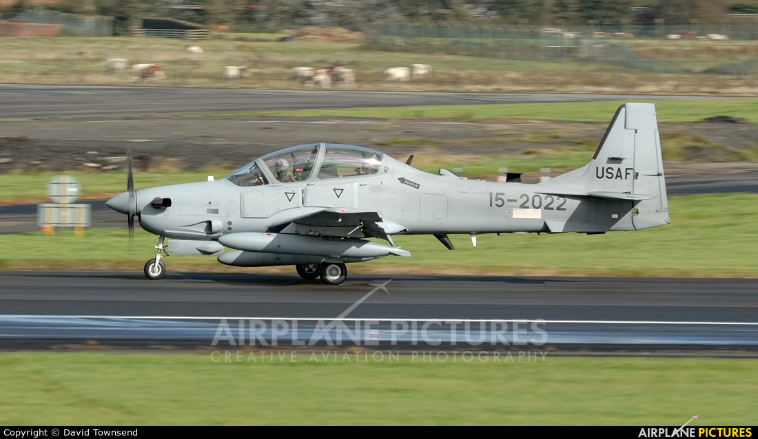 Unknown 15-2022 aircraft at Prestwick