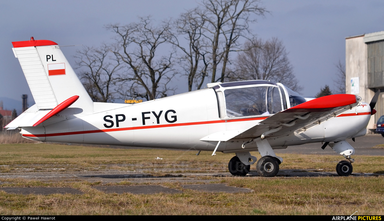 Aeroklub Podkarpacki SP-FYG aircraft at Krosno